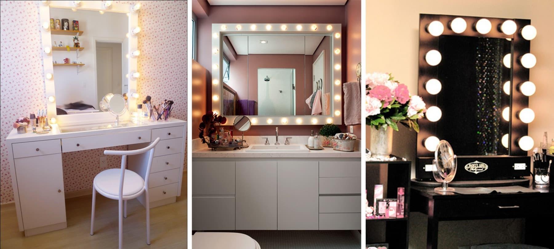 Show Glass Vidros Espelhos e Molduras » Espelho para Camarim #986533 2480x1113