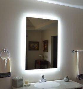 Espelho Com Led Vidra 231 Aria Show Glass Espelhos Vidros