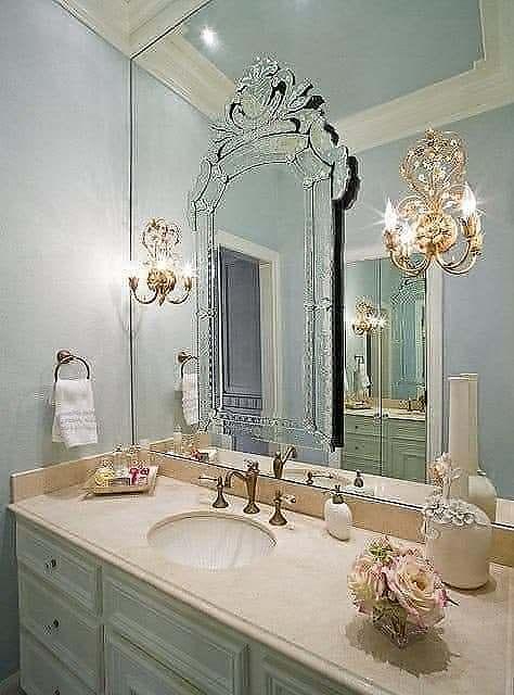 Espelho Banheiro Veneziano