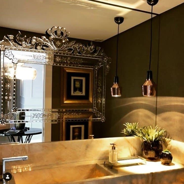 Espelho Veneziano Banheiro