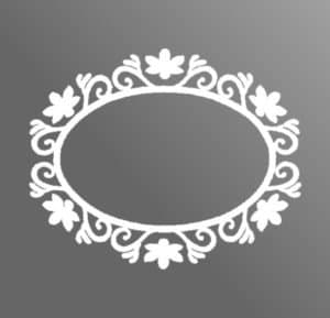 Monograma para Espelho com LED