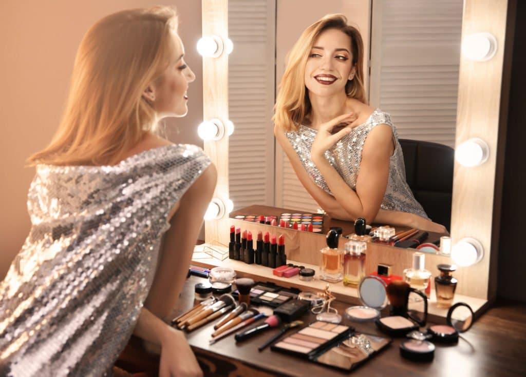 Espelho Penteadeira Camarim LED