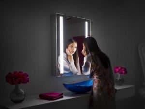 Espelho com LED Iluminado