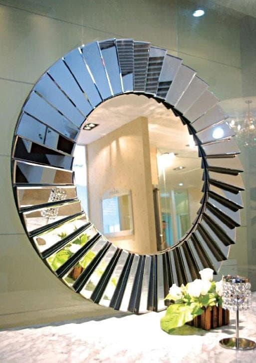 Espelho Com Moldura de Espelho