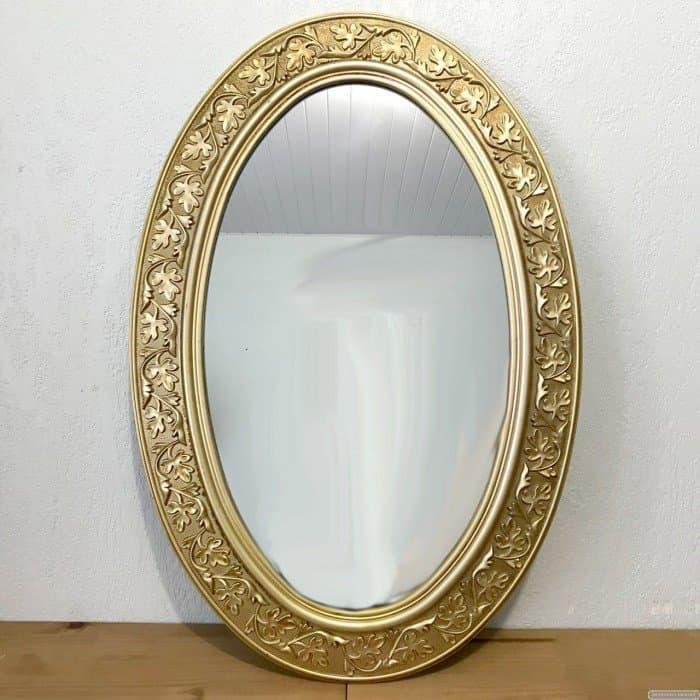 Espelho com Moldura Oval