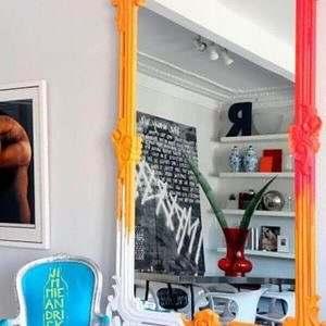 Espelho com Moldura Provençal Grande
