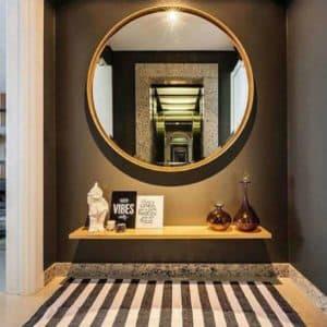 Espelho Redondo Hall de Entrada