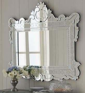 Espelho Veneziano para Hall de Entrada