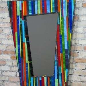Espelho com Moldura Mosaico