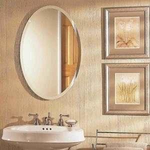Espelho com Bisotê Oval