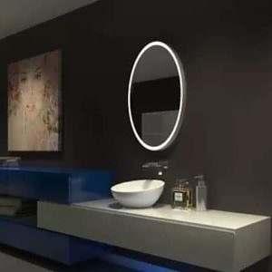 Espelho com LED Oval
