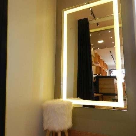 Espelho com LED para Provador Loja