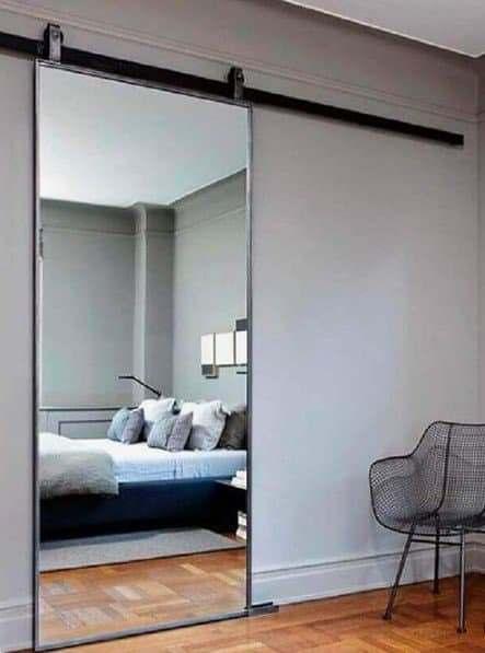 Porta de Espelho Quarto
