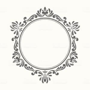 Monograma Espelho Com LED