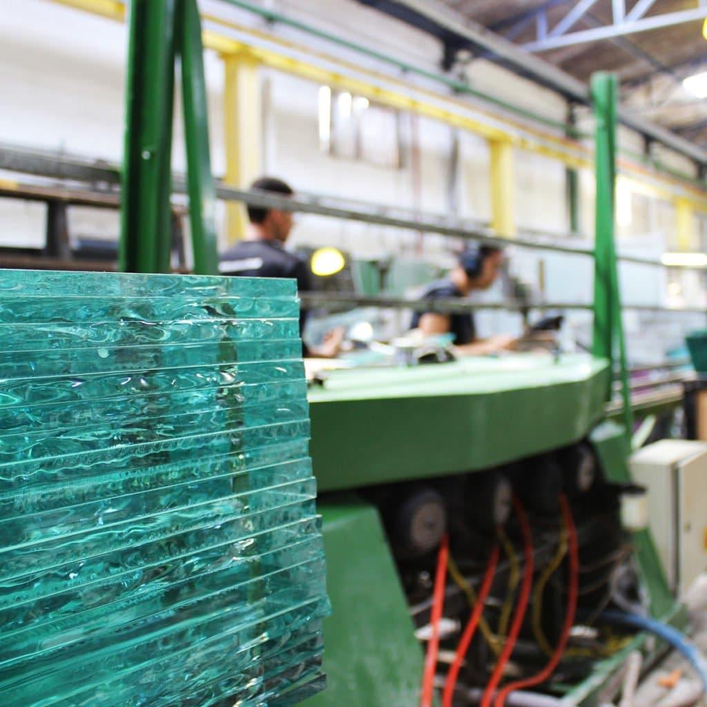 ABNT Normas Técnicas para Vidro, Fábrica de vidro