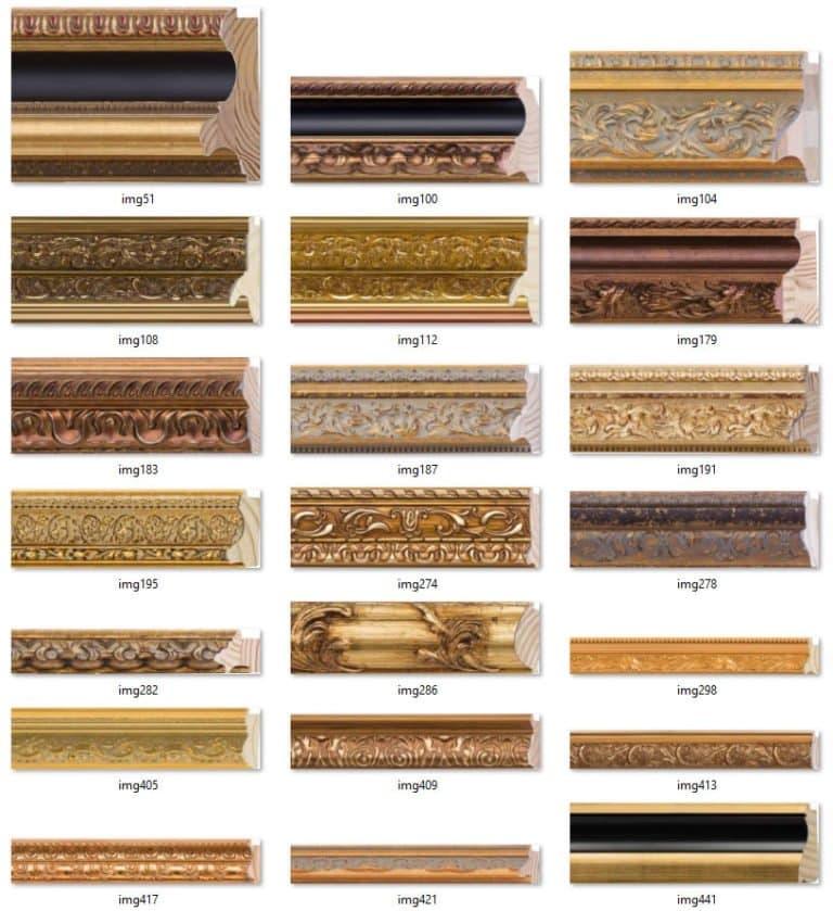 Modelos de Molduras para Decoração de Interiores