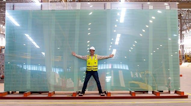 Vidro Extra Grande JUMBO Show Glass