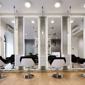 Espelho Iluminado para Salão de Beleza