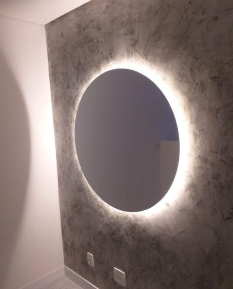 Espelho organico com led
