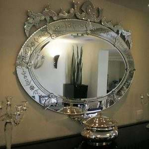Espelho Oval Veneziano