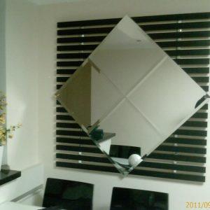 Espelho Bisote Parede Sala